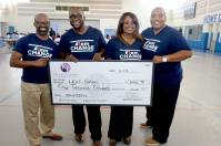 Donation to L.E.A.D. Nation's Boys Empowerment Event