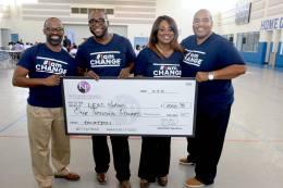 Donation to L.E.A.D. Nation's Boys Empowerment Event