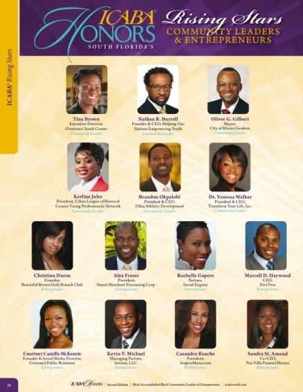 ICABA Honors Rising Stars