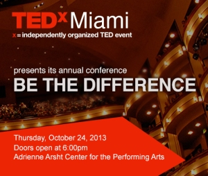 TEDxMiami_BeThe-Difference