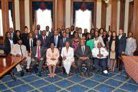 KJules with Emerging Leaders and Members of Congeress