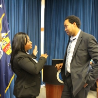 KJules Speaking to the Executive Director for White House Initiative on Educational Excellence for African Americans