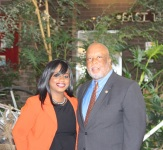 KJules with Congressmen Bennie Thompson