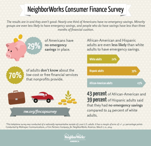NEIGHBORWORKS AMERICA CONSUMER FINANCE SURVEY