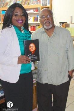 K. Jules with Haitian Community Advocate Jan Mapou