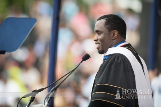 "Sean ""Diddy"" Combs (Photo Courtesy of Howard University Office of Communications)"