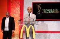McDonalds 365Black Awards Sharpton And Joyner