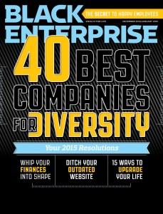 BLACK ENTERPRISE Diversity List Cover