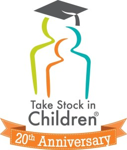 Take Stock in Children 20th Anniversary Logo