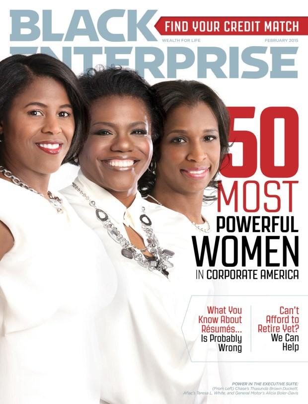 Black Enterprise February 2015 Cover