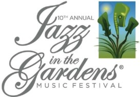 Jazz in the Gardens 10th Annual Logo