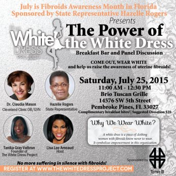 WDP_July is Fibroids Awareness Month_FL Event