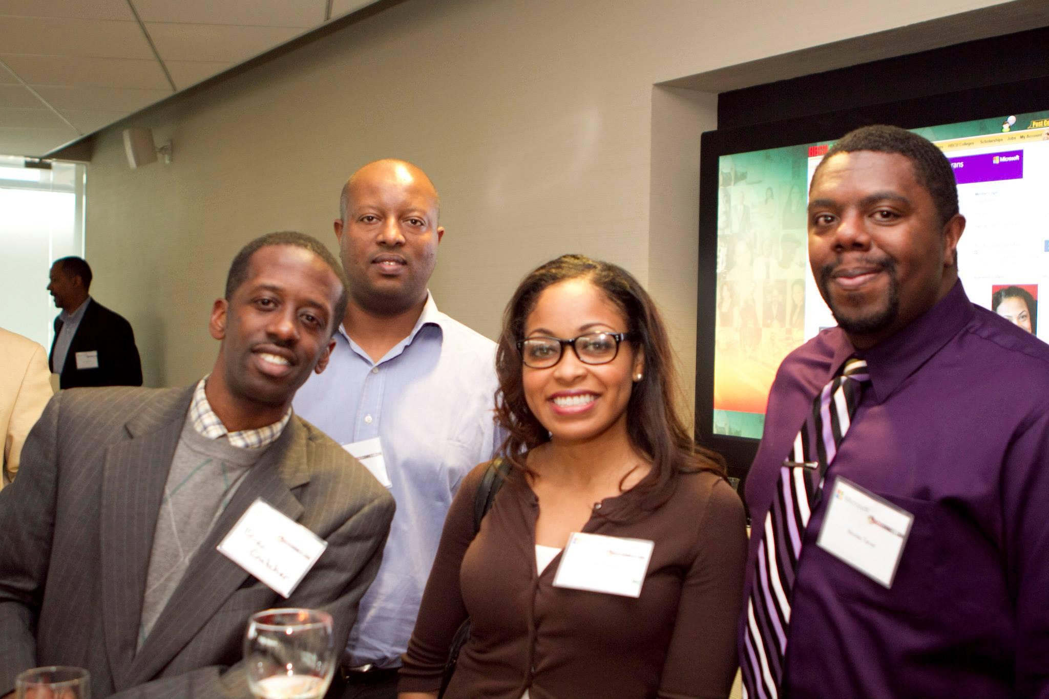 Black professionals meet