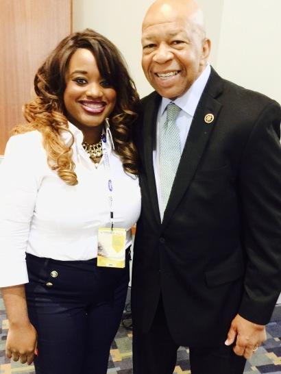 with Congressman Elijah Williams