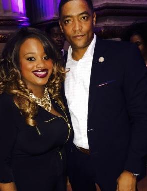 with Congressman Cedric Richmond